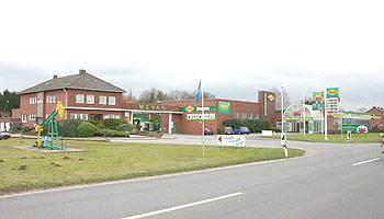 Umbau  Tankstelle