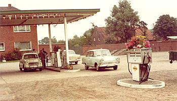 Tankstellendach