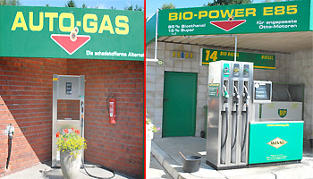 Autogas LPG  & Bio Power E 85